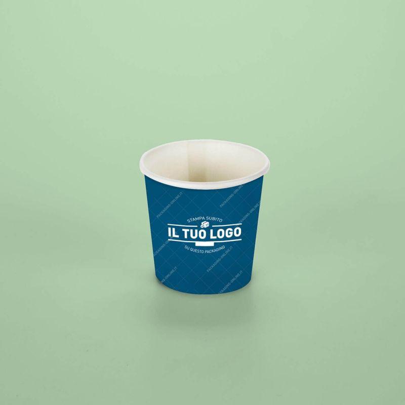 Bicchiere Cartoncino caffè 70 cc - fondo pieno