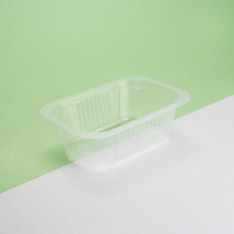 Vaschetta plastica trasparente 137x95x45 mm - Neutro