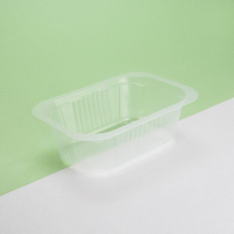 Vaschetta plastica trasparente 137x95x63 mm - Neutro