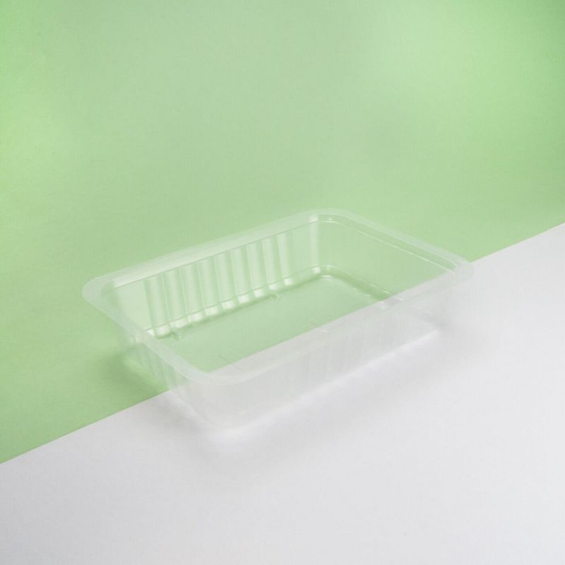 Vaschetta plastica trasparente 190x137x50 mm - Neutro