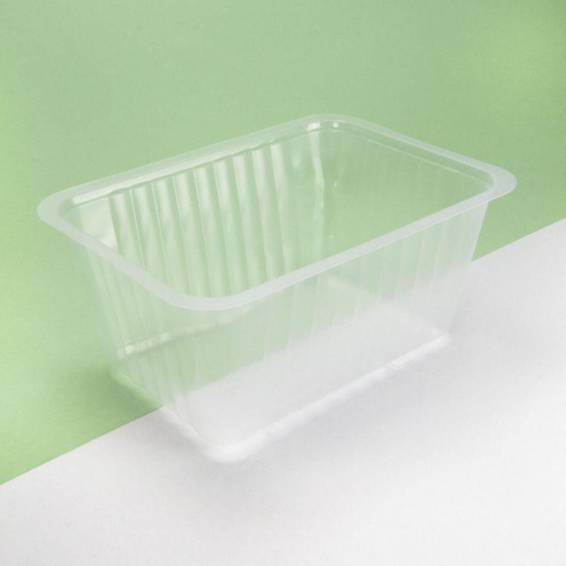 Vaschetta plastica trasparente 190x137x90 mm - Neutro