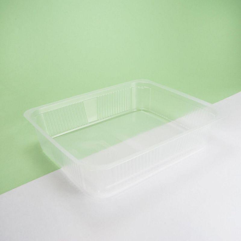 Vaschetta plastica trasparente 230x190x65 mm - Neutro