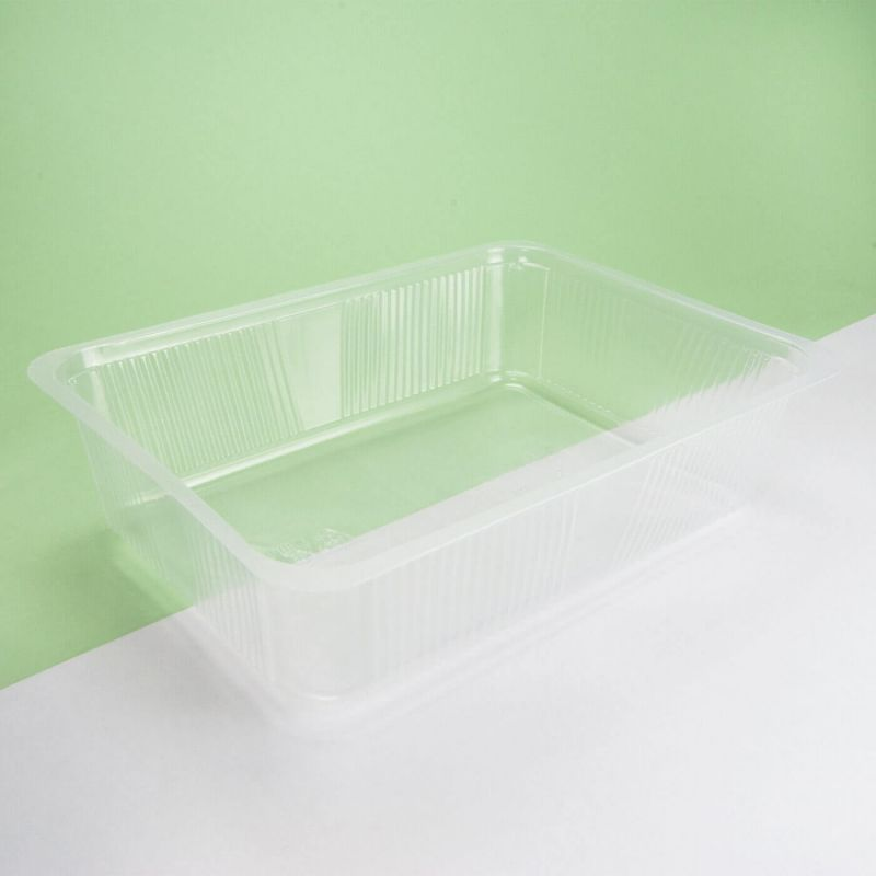 Vaschetta plastica trasparente 260x190x65 mm - Neutro