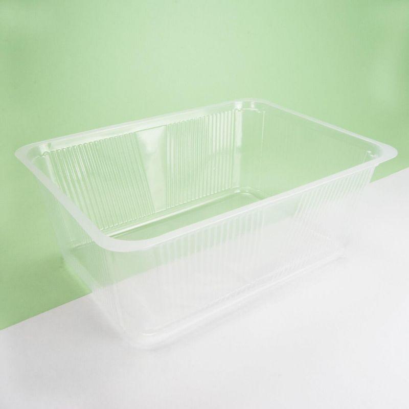 Vaschetta plastica trasparente 260x190x95 mm - Neutro