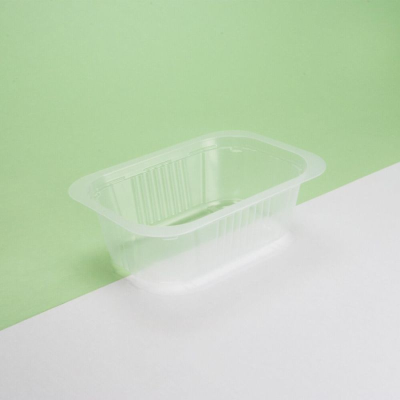 Vaschetta plastica trasparente 137x95x30 mm - Neutro