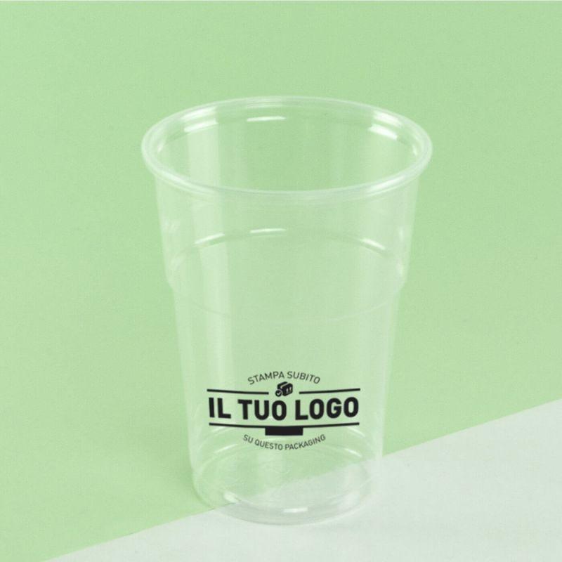 Bicchiere Polipropilene 250cc.
