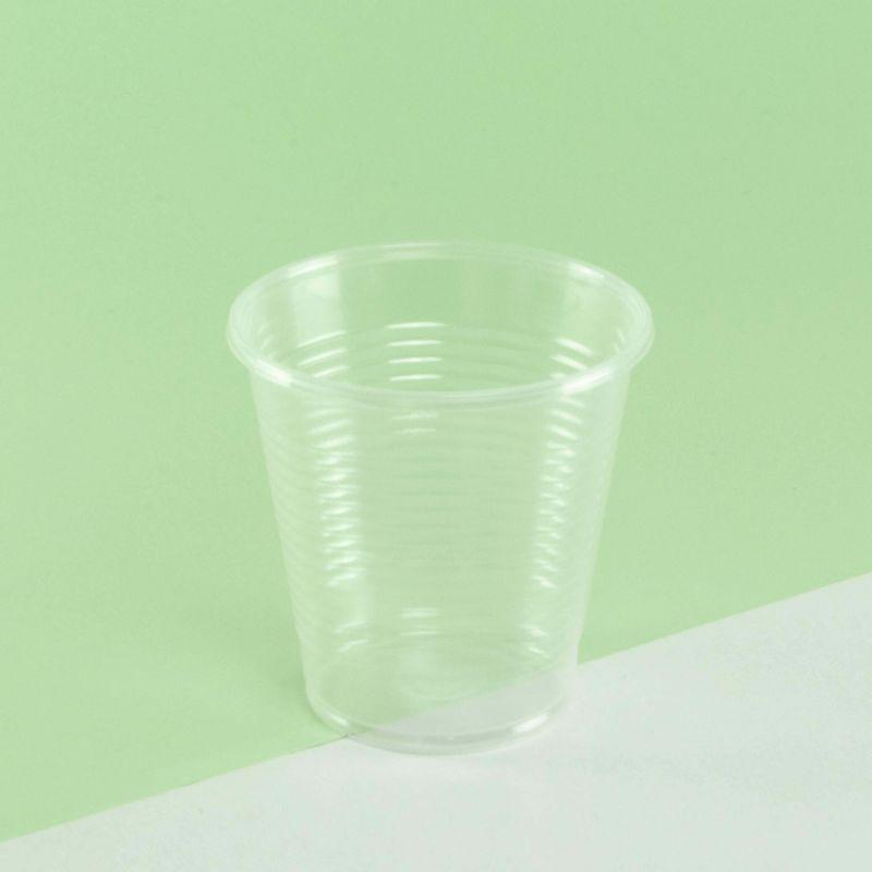 PP clear plastic cups 166 cc - Neutral