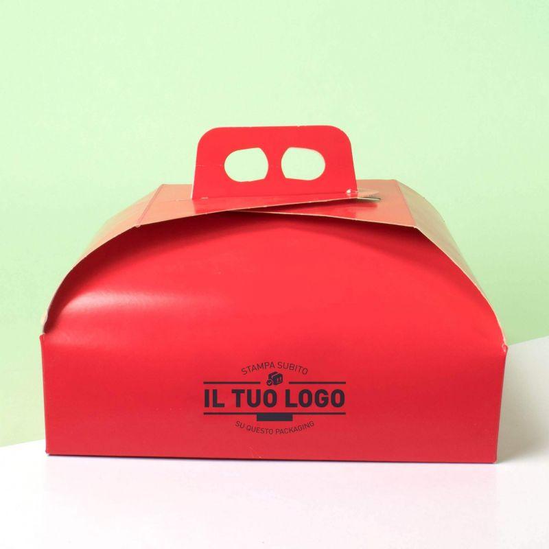 Scatola torta rossa (100Pz.)
