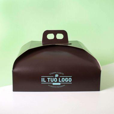 Scatole torta marroni (100Pz.)