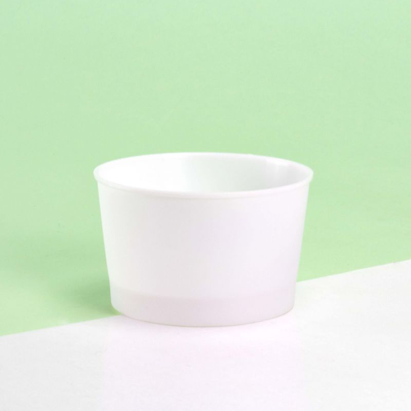 Ice-cream plastic cups 180 cc - Neutral
