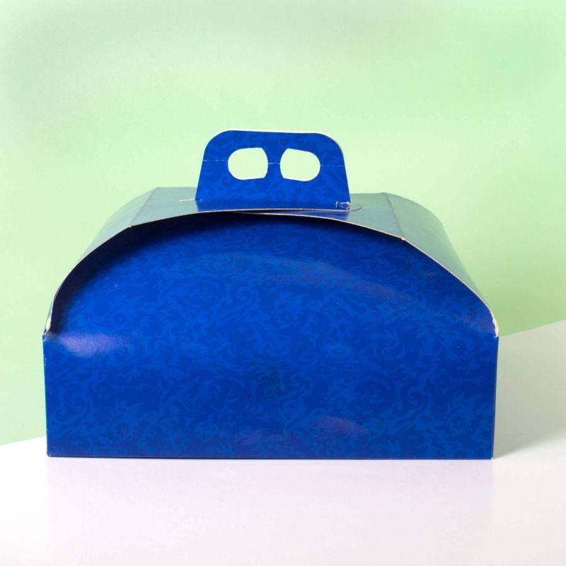 Scatole torta Blu - Neutre
