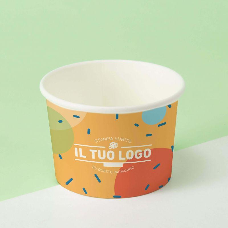 Ice Cream Paper Cups c160