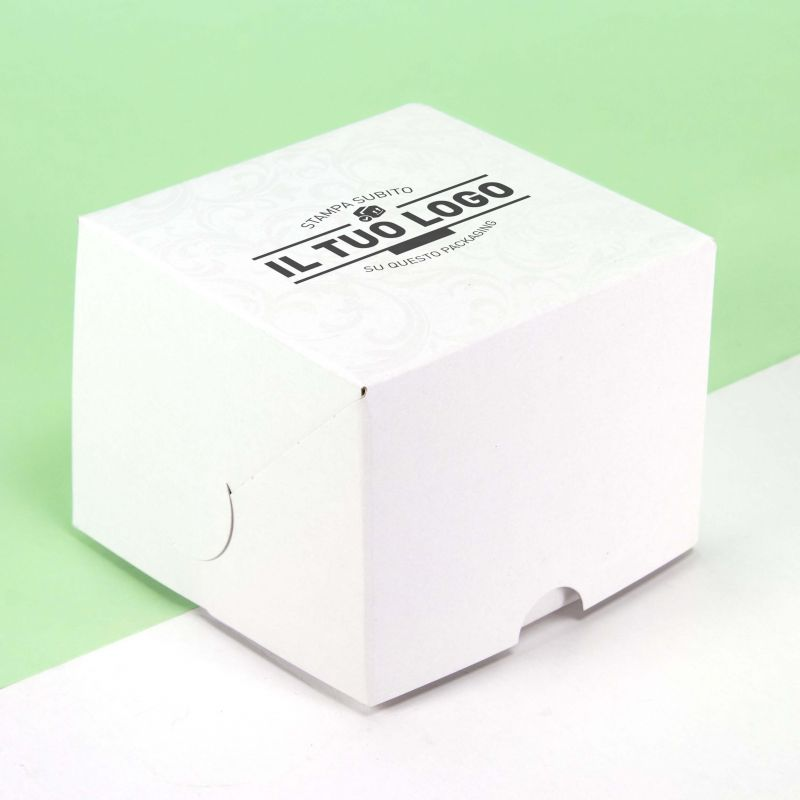 Mini cake boxes without handles 10x10x8 cm