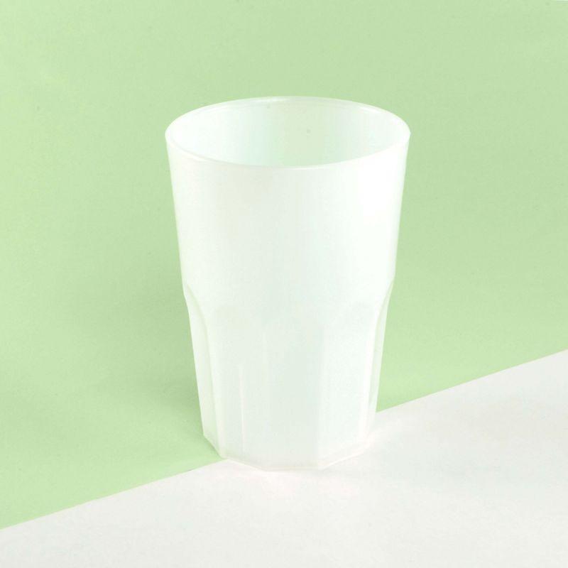 Bicchieri Rigidi Trasparenti Opachi 350 cc - Neutri