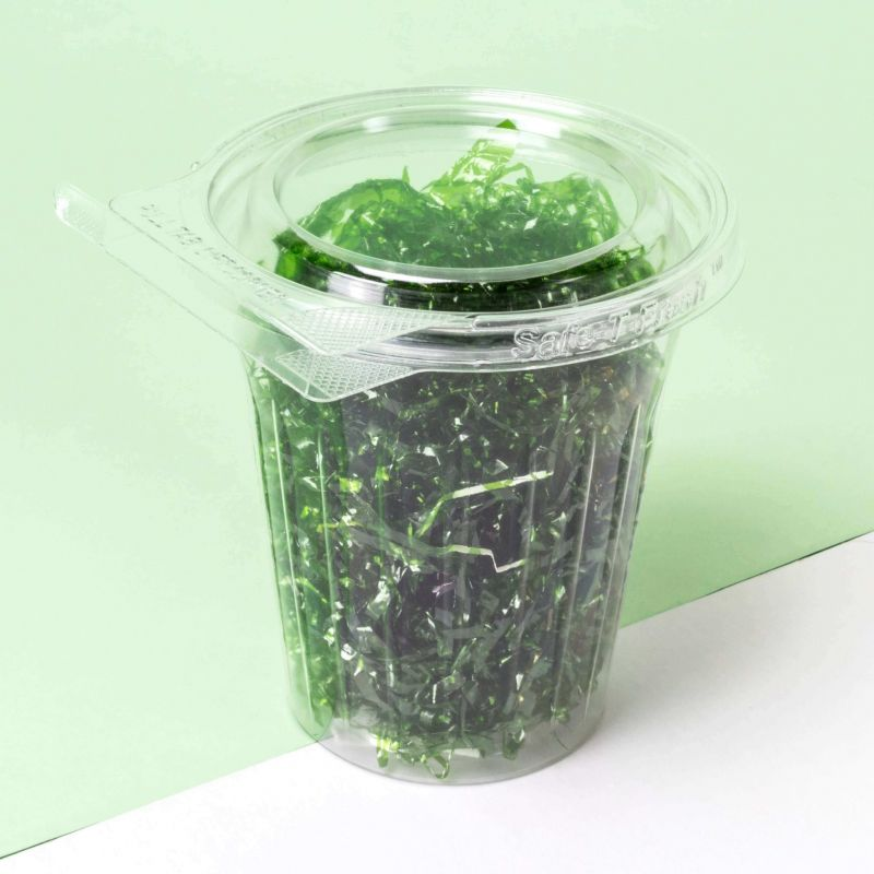 Bicchieri contenitori con coperchio piatto 500ml