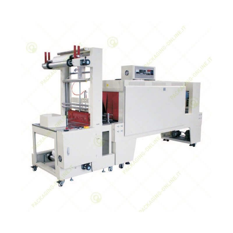 Semi-automatic sleeve Sealing Shrink Packager ST6040Q + heater TBSE5045A