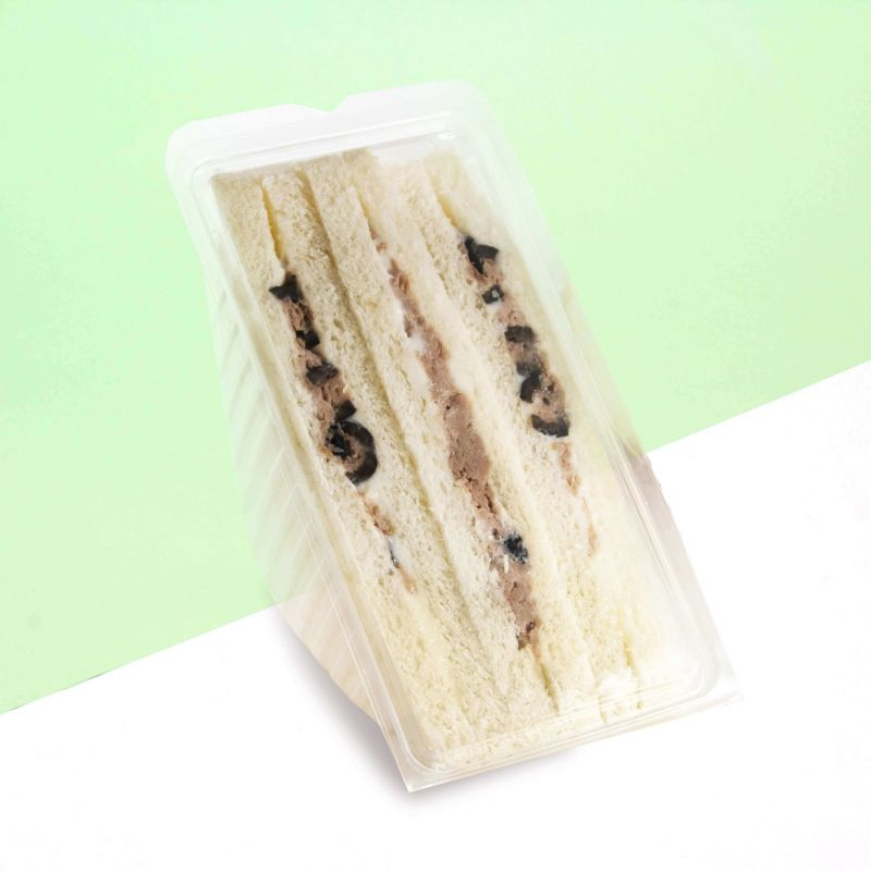 Disposable big sandwich boxes - neutral