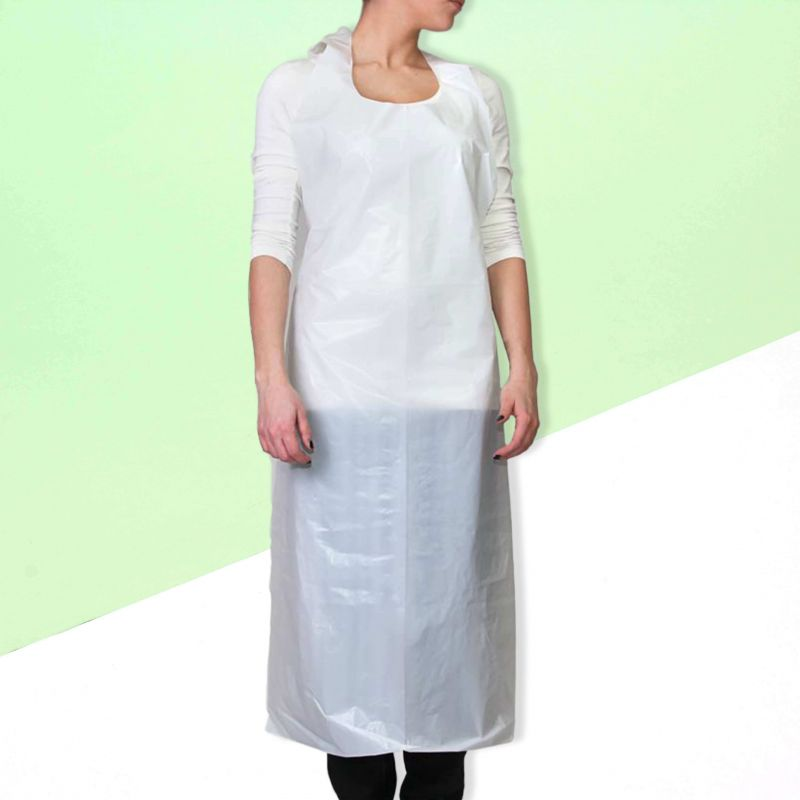 Disposable apron pvc 760 x 1225
