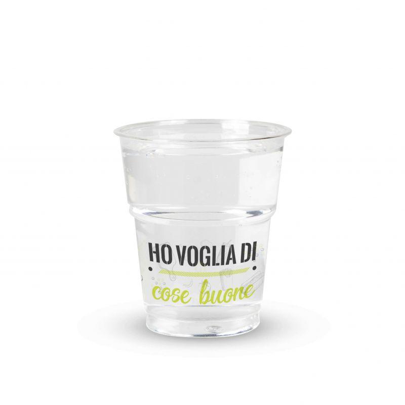 bicchiere kristal pet 250 cc