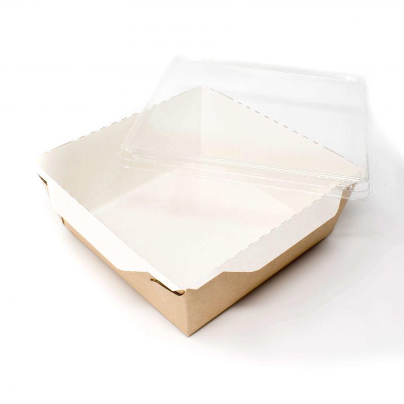 contenitore per insalate e piatti freddi con coperchio