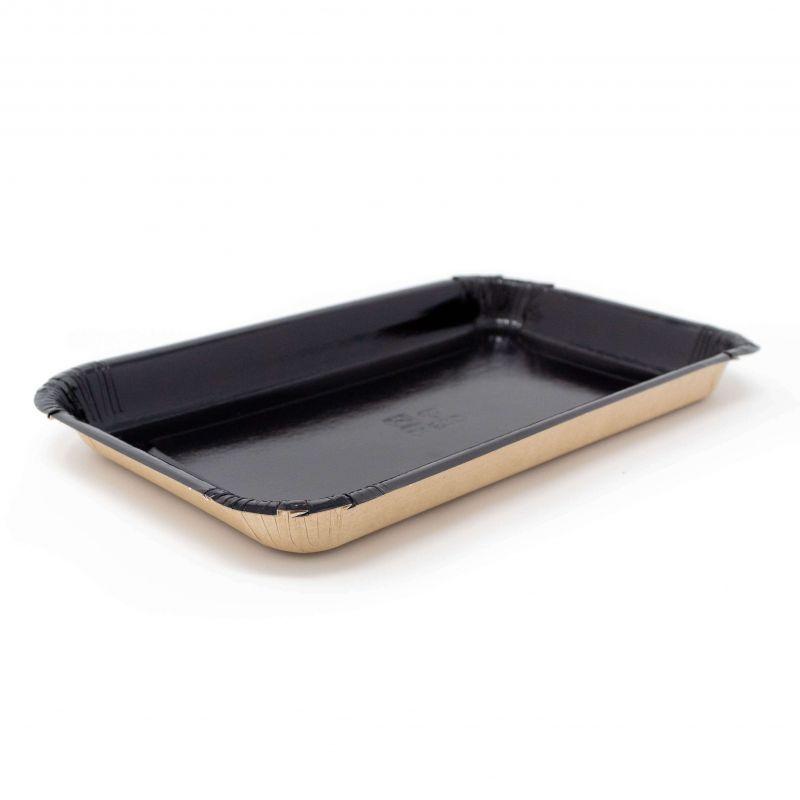 Paper black/sand tray 220x140x45