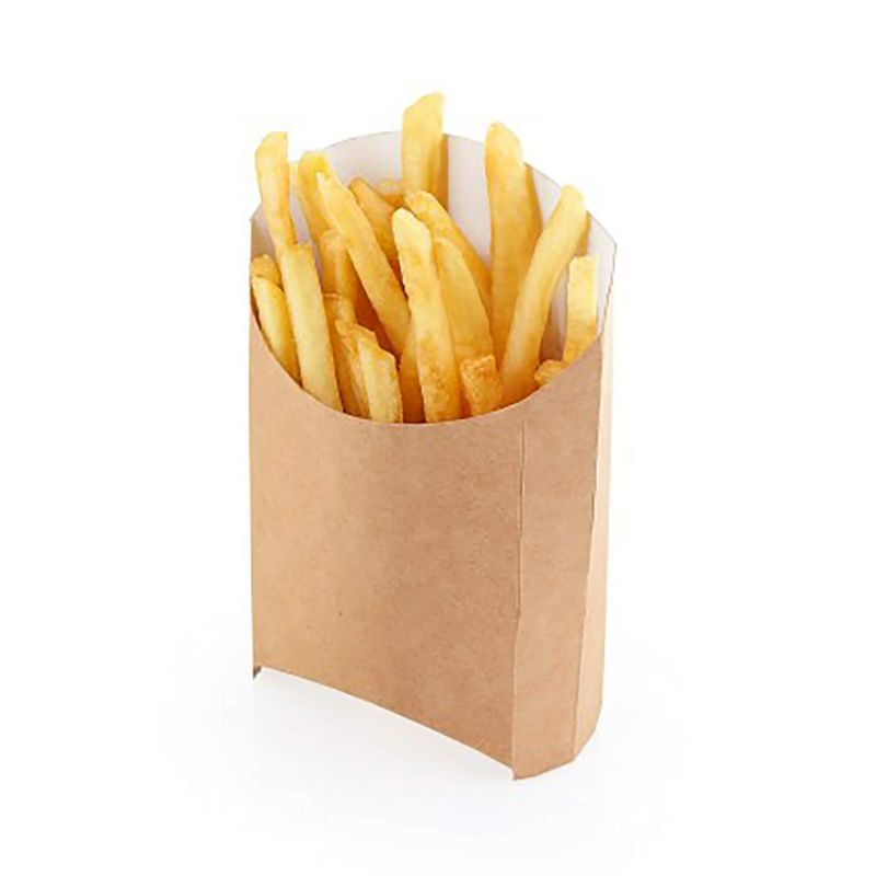 Large french fries eco paper boxes eco Avana