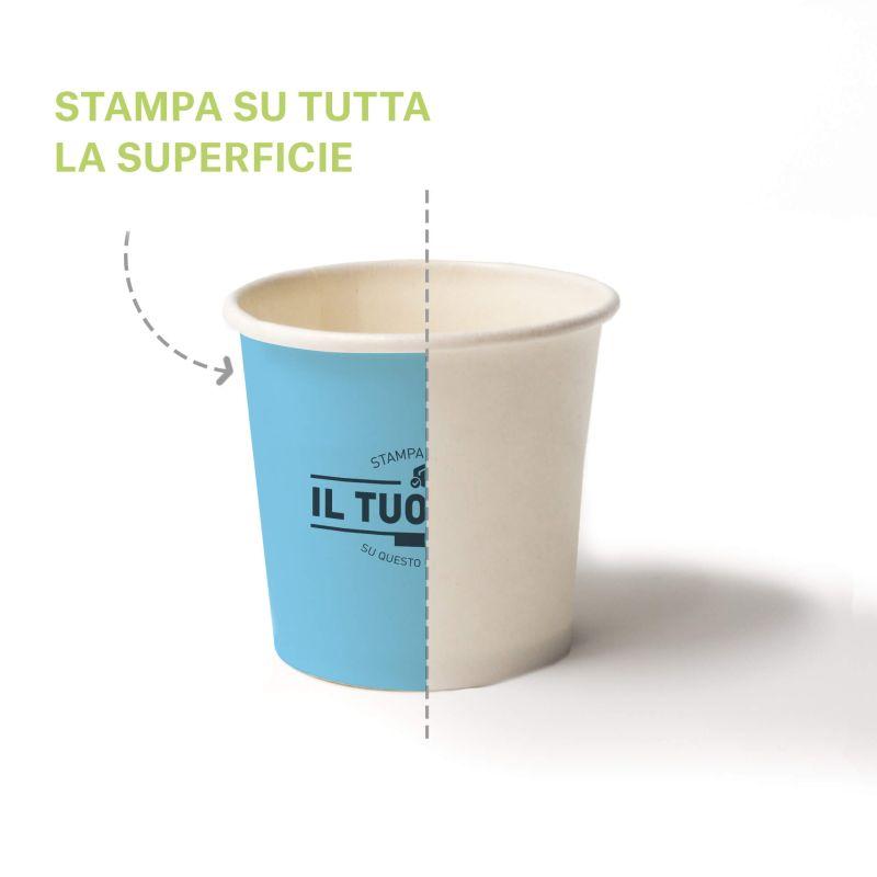 Compostable pla cups 115 cc - 4 oz - Custom design