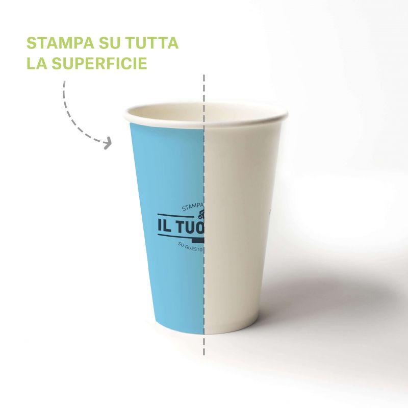 Compostable PLA cups 200 cc - 7 oz - Custom design