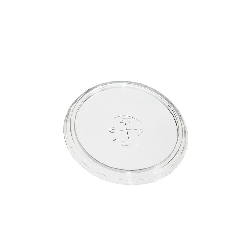 Coperchi piatti Kristal Pet trasparenti 350-400-500 cc