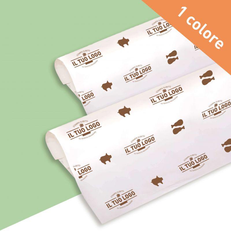 Carta per alimenti Antigrasso Bianca - 1 colore