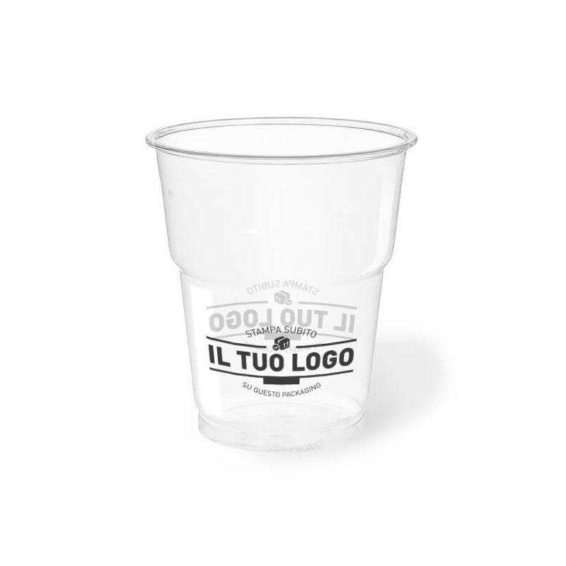 bicchiere compostabile ecologico 250 cc