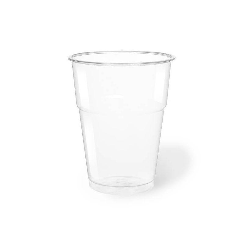 Clear Plastic PET Cups 350 cc - Neutral