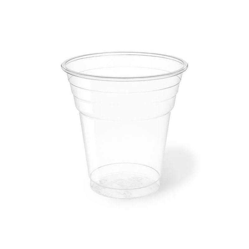 Clear Plastic PET Cups  200 cc - Neutral