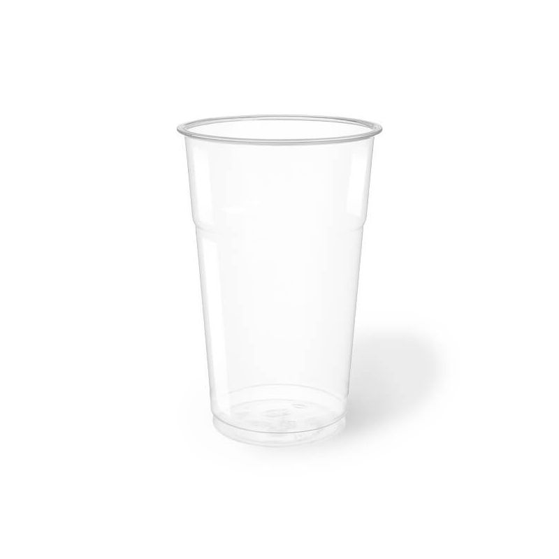 Clear Plastic PET Cups 500 cc - Neutral