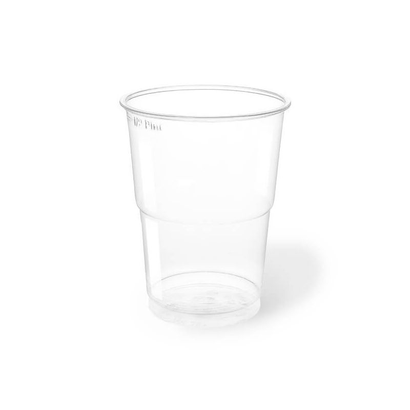 Clear Plastic PET Cups 300 cc - Neutral