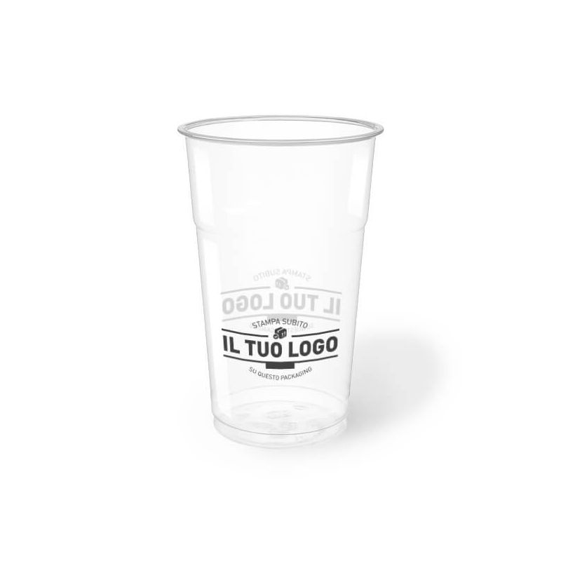 Clear Plastic PET Cups 500 cc