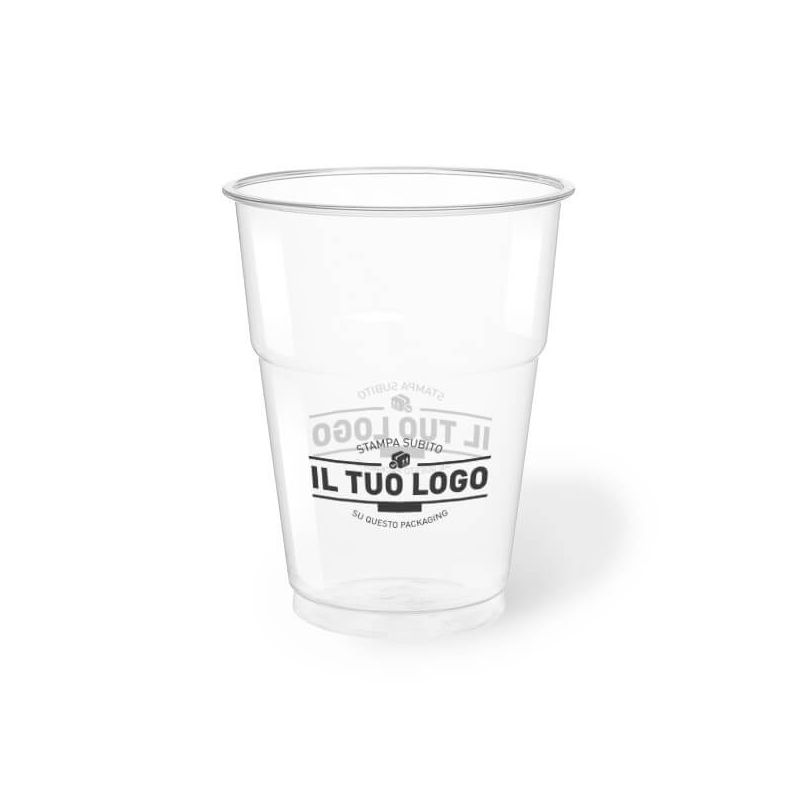 Clear Plastic PET Cups 350 cc
