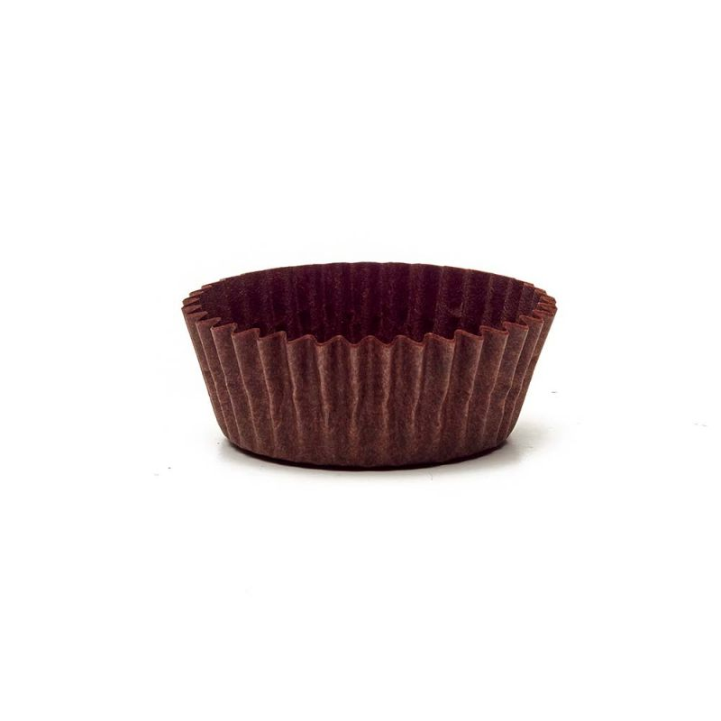 Brown Circular Baking Cups n.3 (ø31x h18 mm)