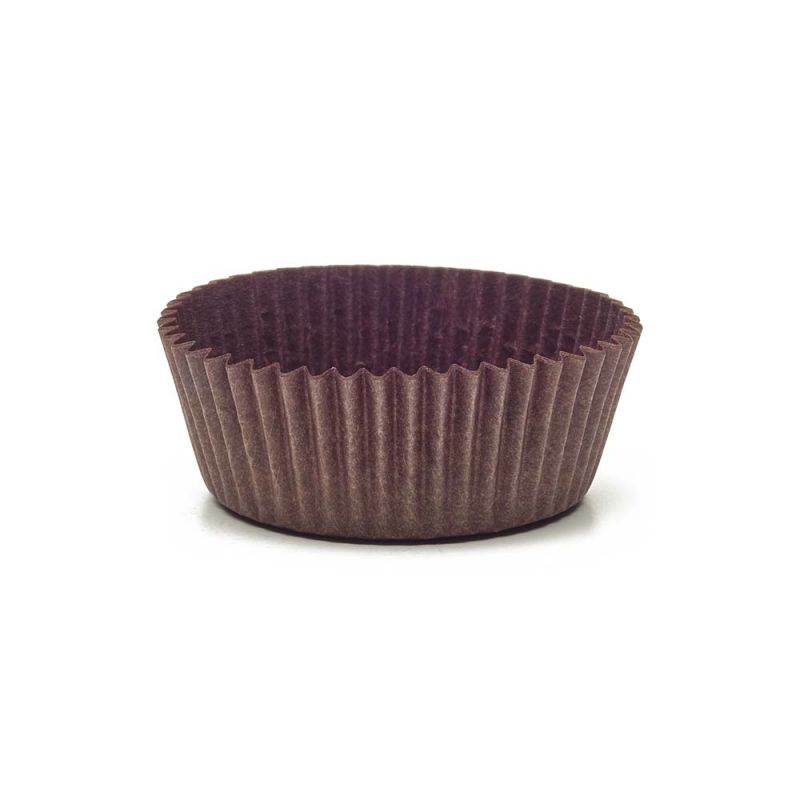 Brown Circular Baking Cups n.4 (ø35x h21 mm)