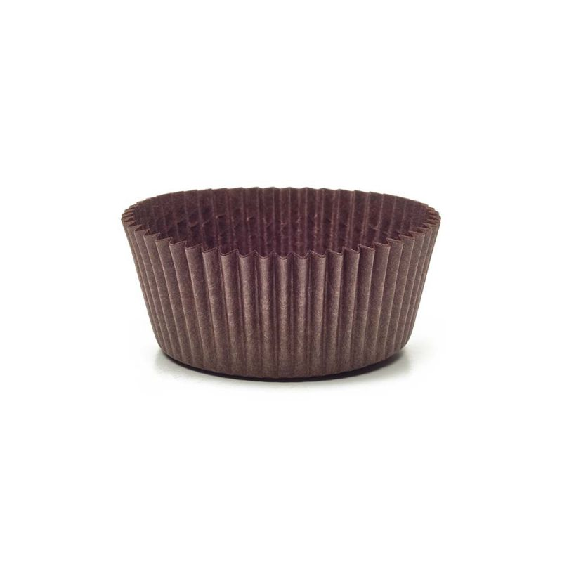Brown Circular Baking Cups n.7 (ø50x h25 mm)