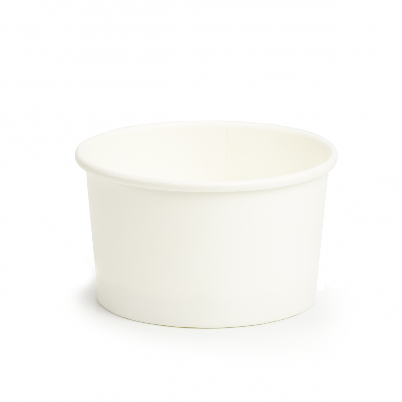 Ice cream paper cups C120 - Neutral