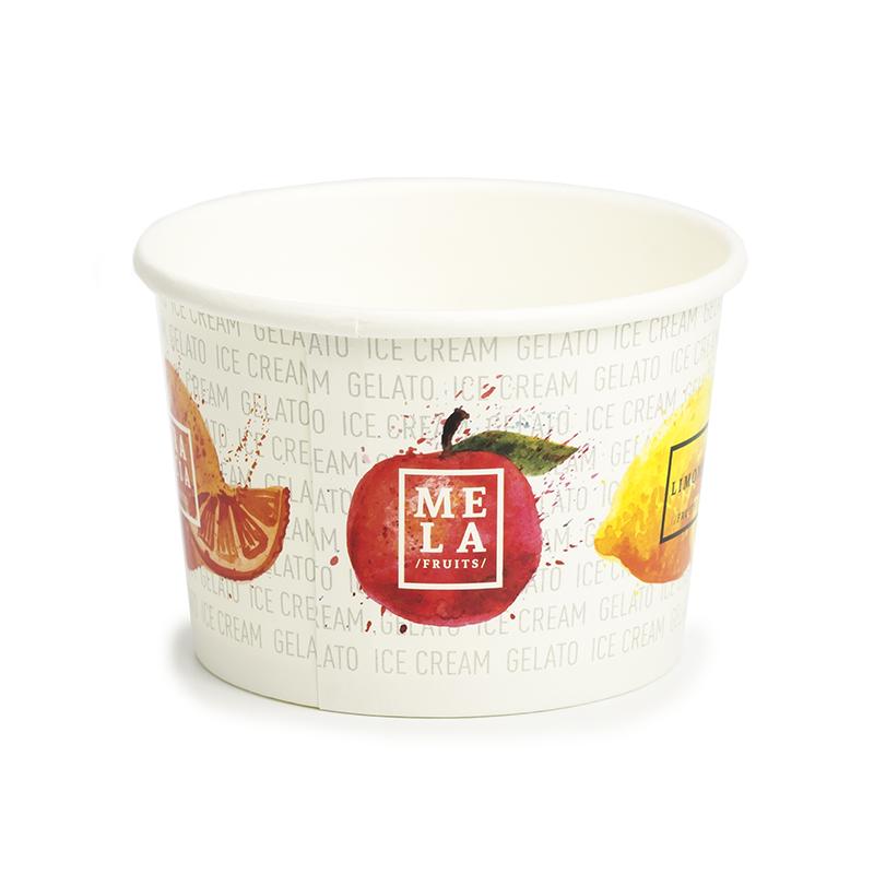 Ice cream paper cups C100 - Fruit