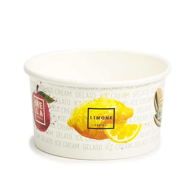 Coppette Cartoncino per gelato - Fruit c120