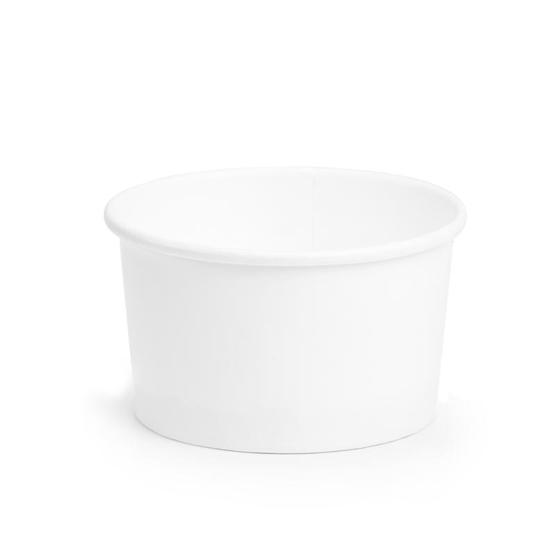 Coppette Cartoncino C100 per gelato - Neutre