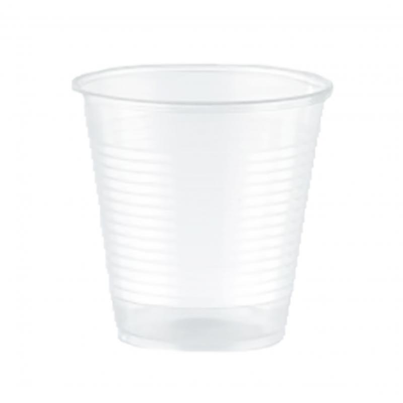Bicchieri Trasparenti in PLA 160 cc Compostabili - neutri