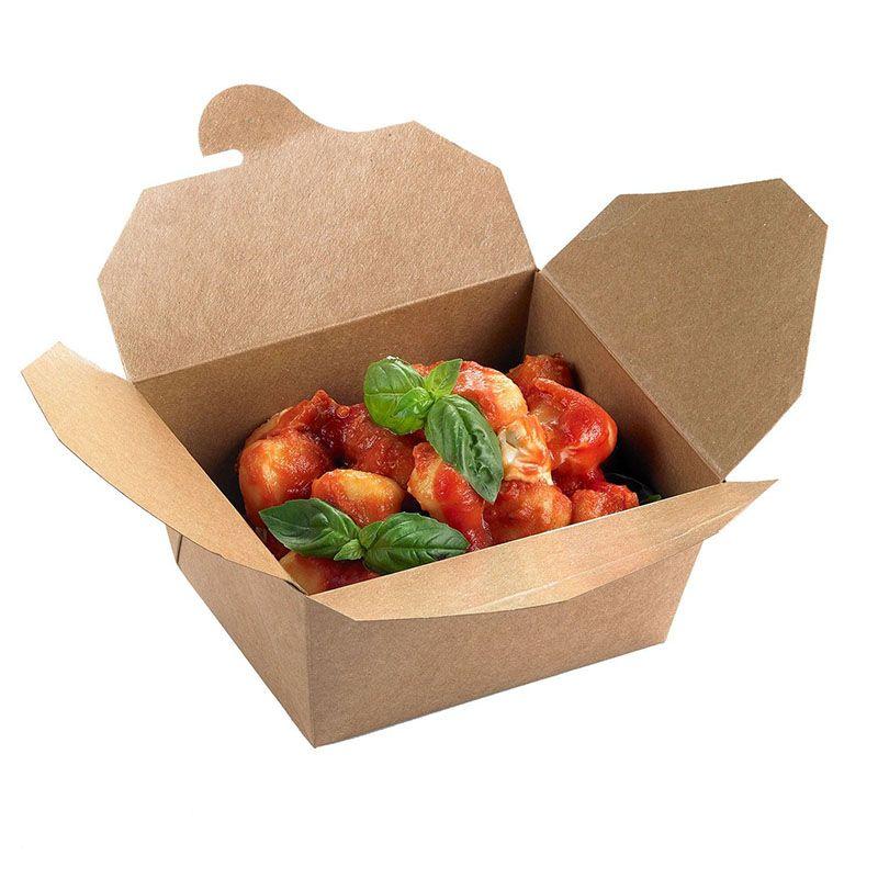 Box lunch 4 avana [21,5 x 16 x 9 h.] - Neutro