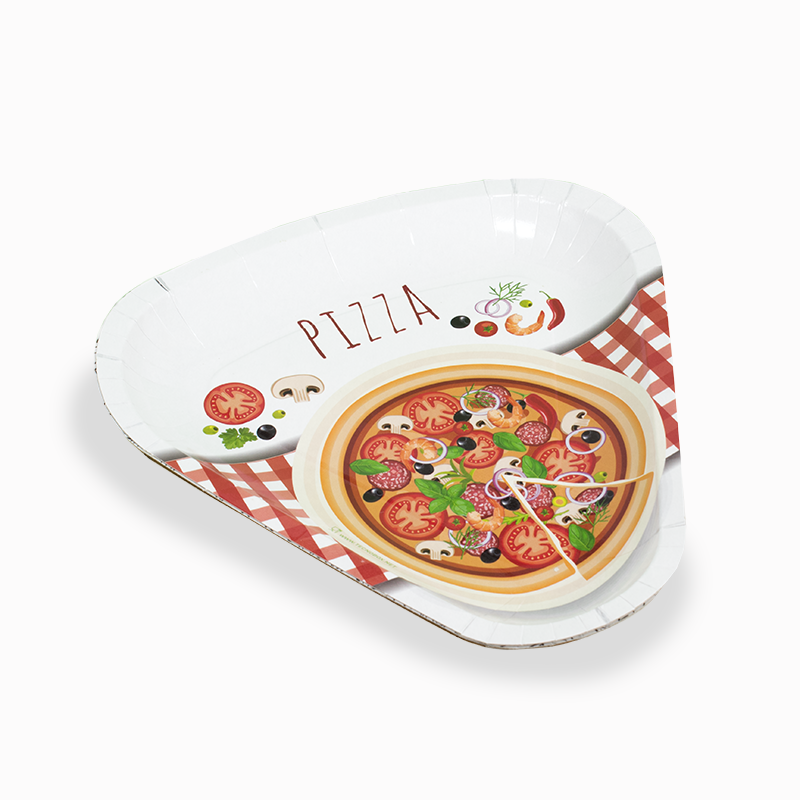 Pizza paper plates 1/6