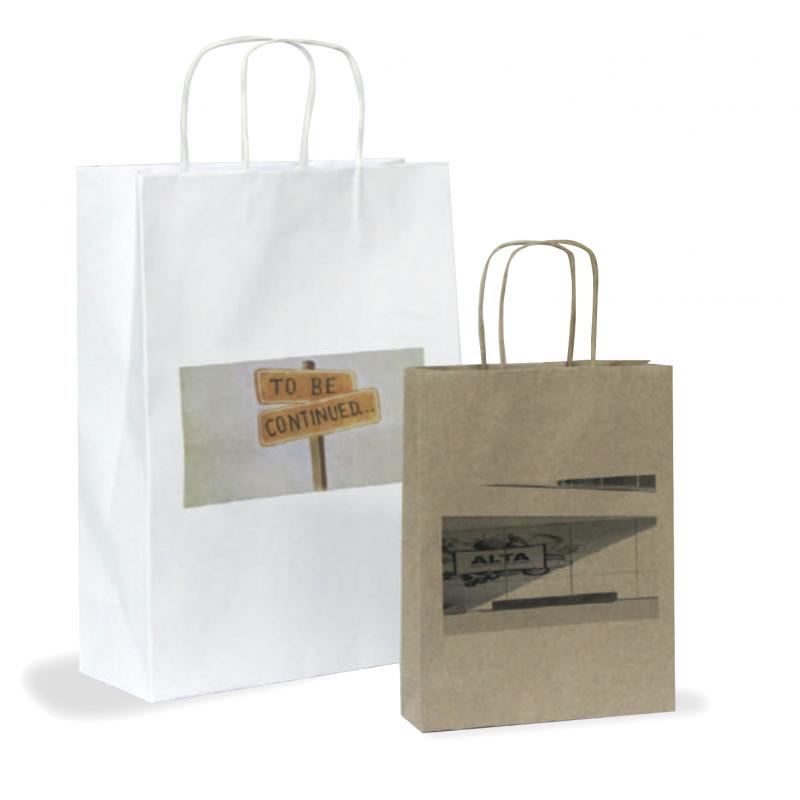 Shoppers in Carta Modello Daily 22 x 10 x 22,5 cm