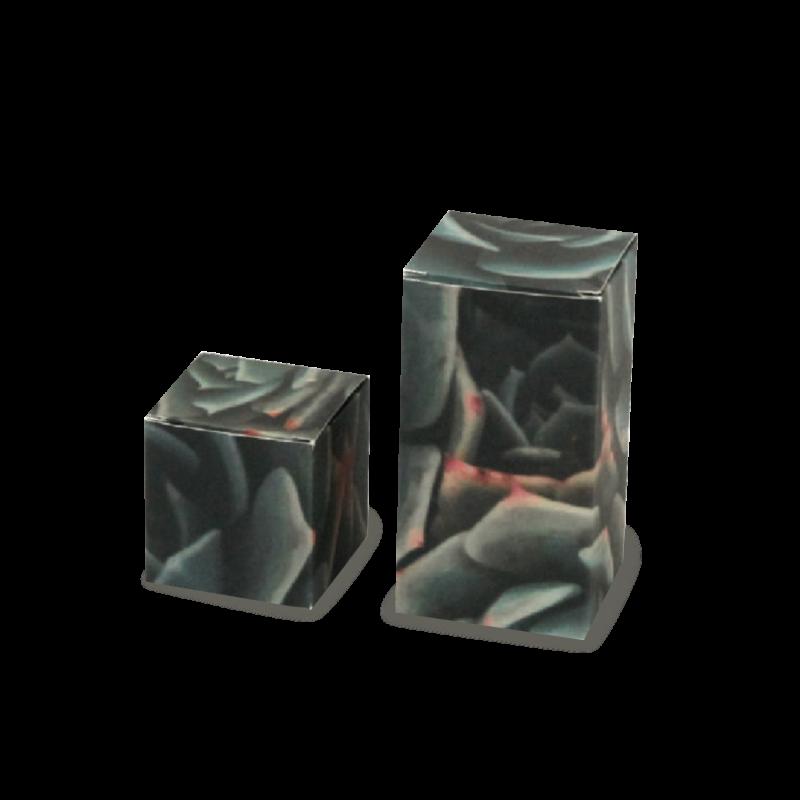 Scatola pieghevole  Modello Cubo 14 x 7,6 x 7,6 cm
