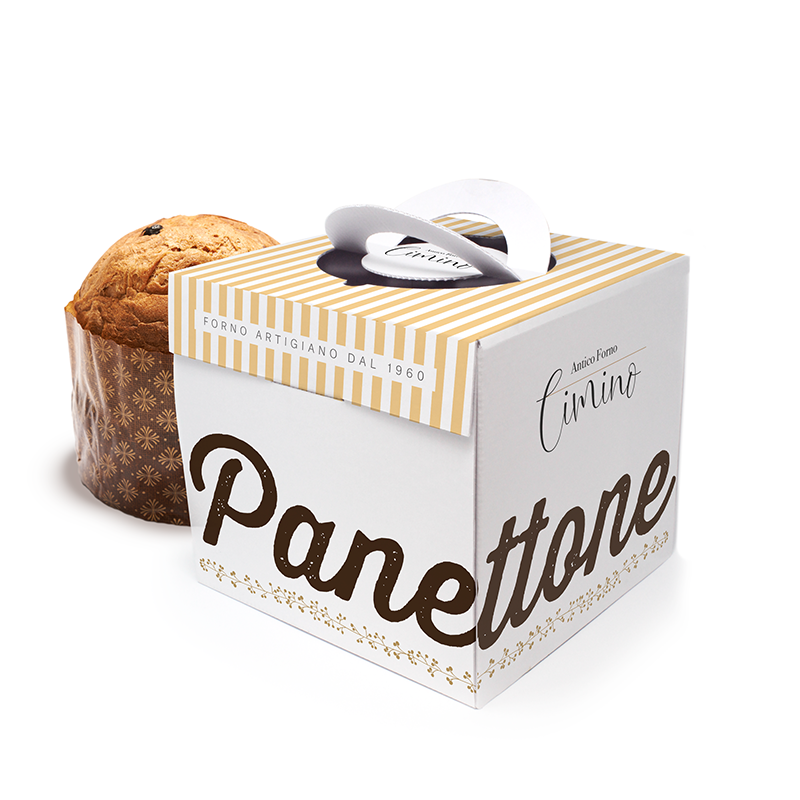 PANETTONE BOXES CHIC MODEL 23 x 23 x 18 cm